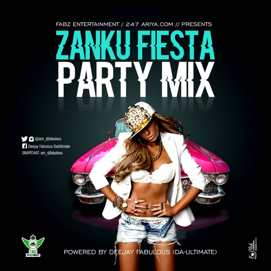 Download Mixtape: DJ Fabulous - Zanku Fiesta Party Mix