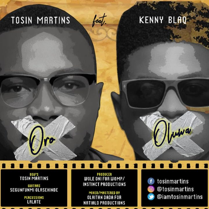 Tosin Martins Ft. Kenny Blaq – Oro Oluwa