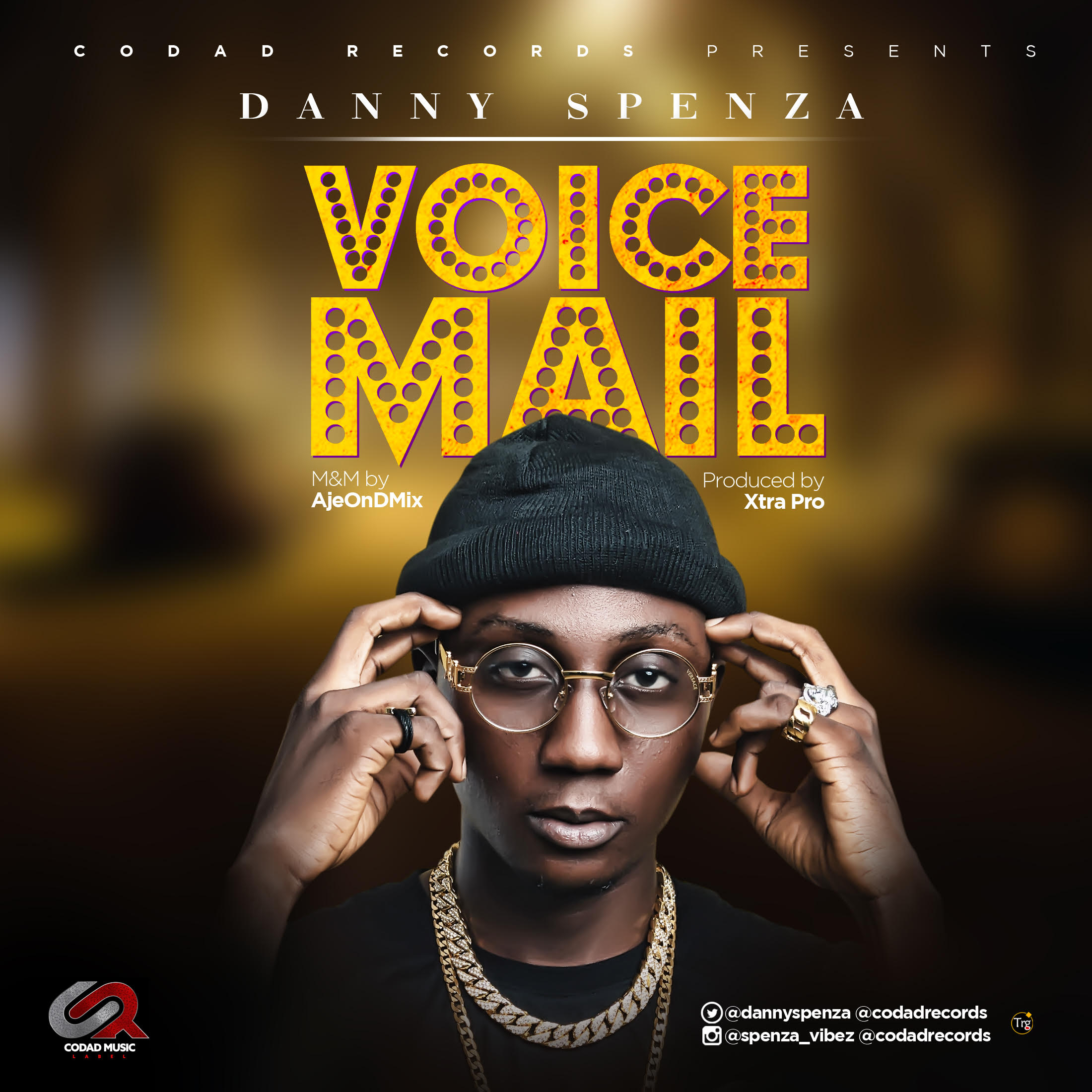 Danny Spenza - Voicemail (Prod. by XtraPro)