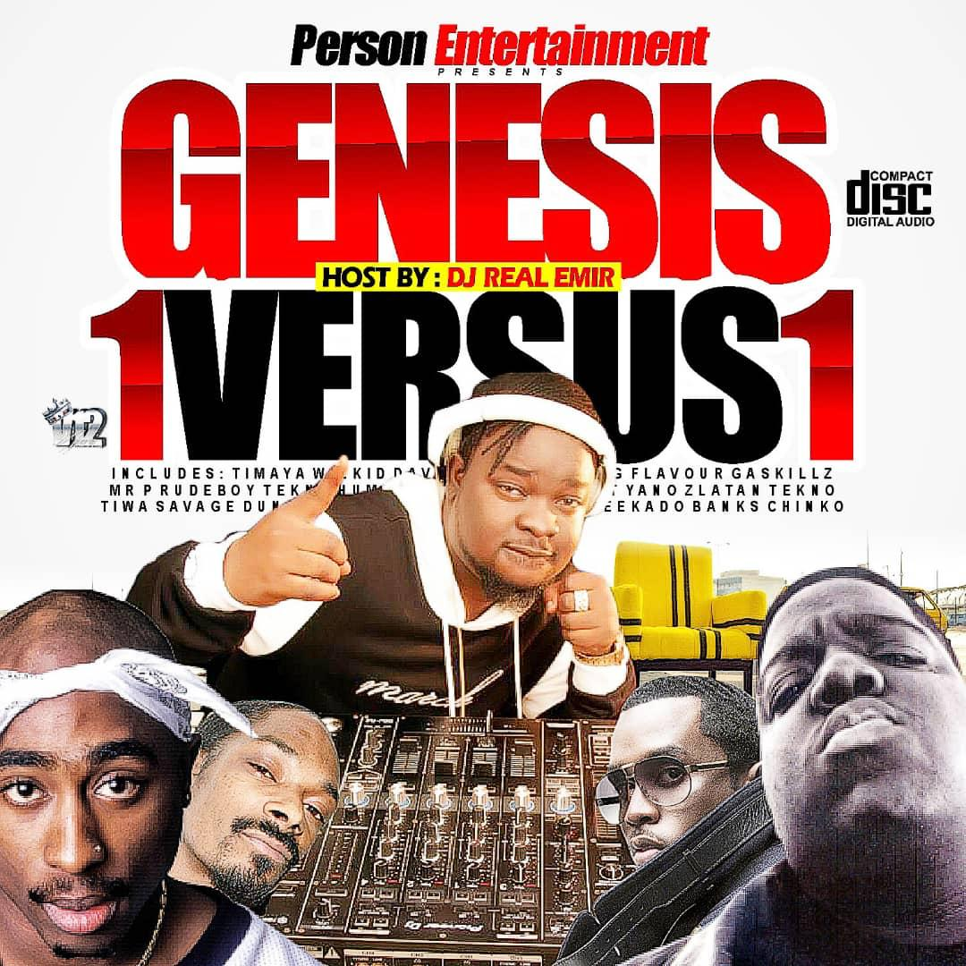 DJ REAL Genesis 1 vs 1 Mixtape