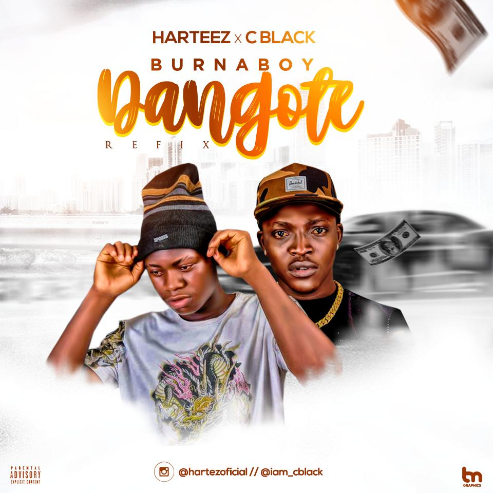 Harteez x C Black x Burnaboy - Dangote (Refix)