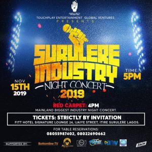 Surulere Industry Night Concert