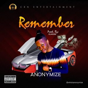 Anonymize - Remember