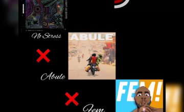 DJ SJS - No Stress Vs Fem Vs Abule Mix