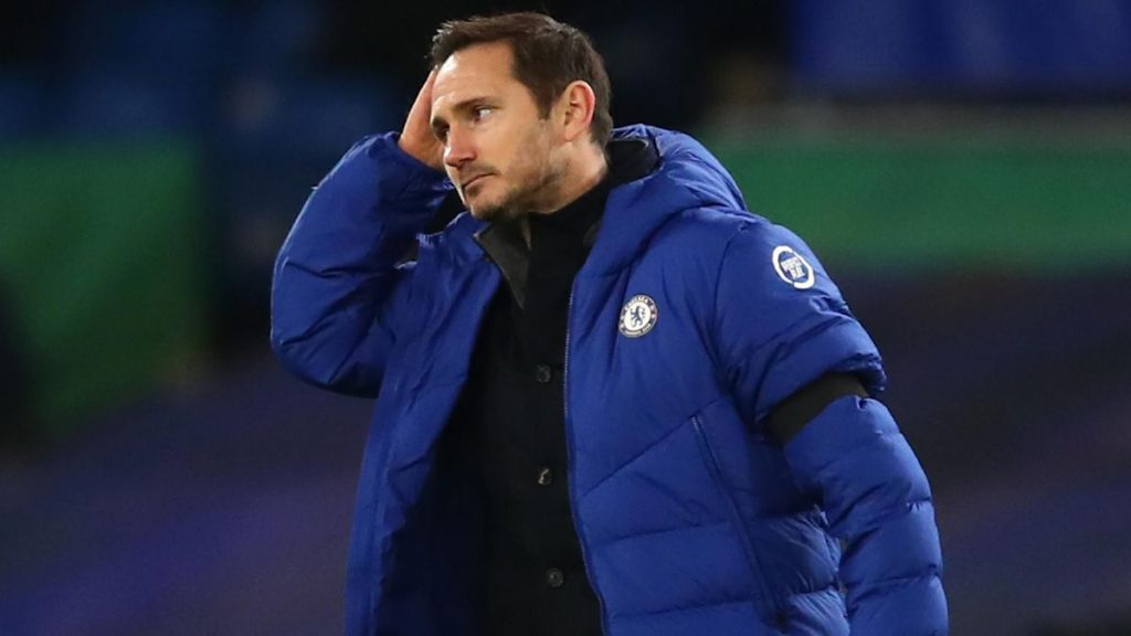 Frank Lampard Sacked By Chelsea After 18 months.