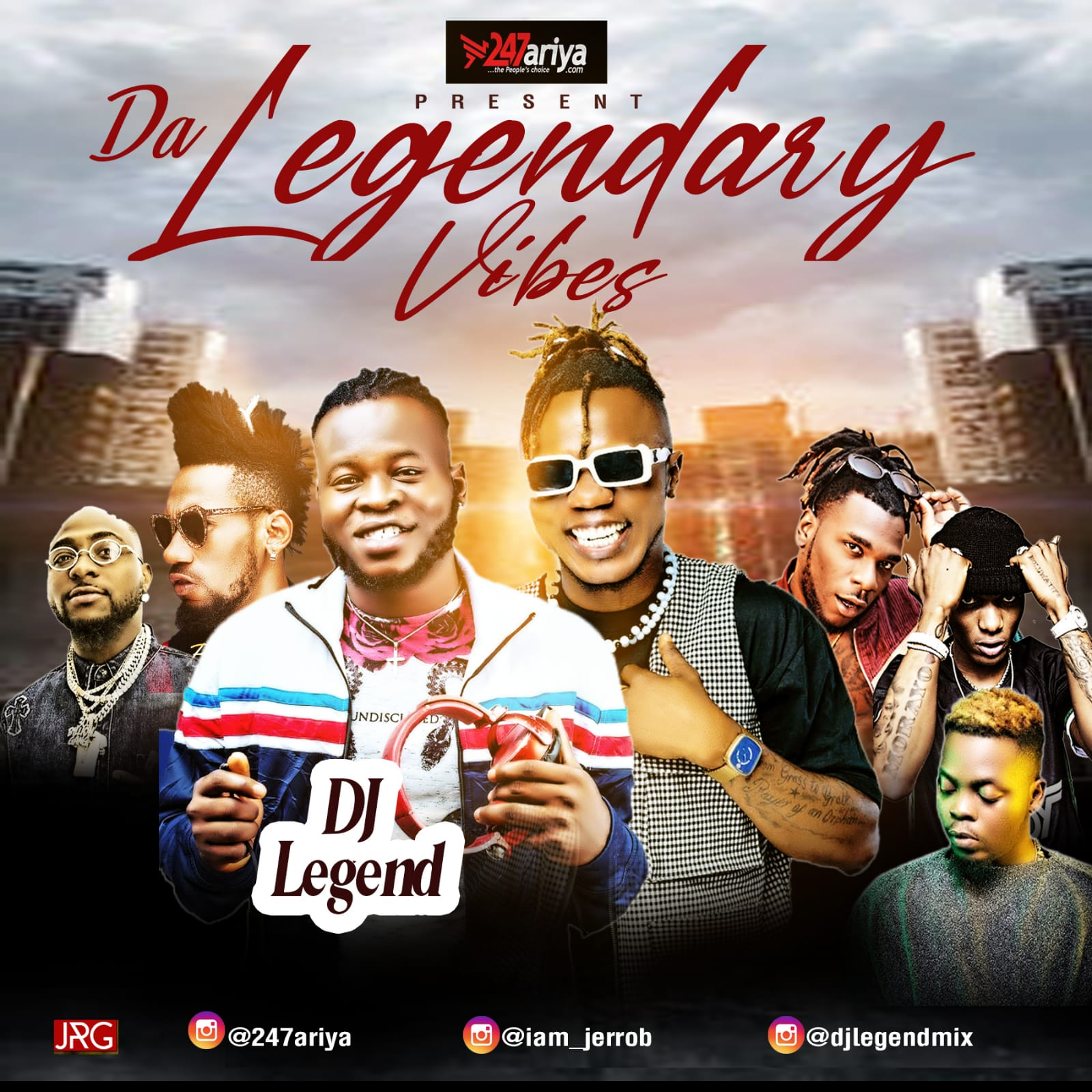 DJ Legend - Legendary Vibes Mix
